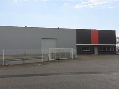 Bâtiment industriel à Couëron