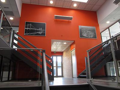 Plateau de bureaux rénové à la Chapelle
