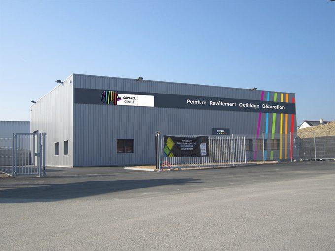 EGI Photos nos réalisations Caparol center